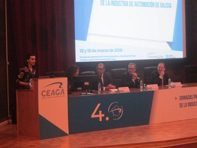 Clausura de jornadas de Ceaga para la transformación digital en la automoción