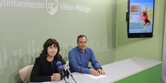 1. Vélez-Málaga acoge a final de mes el torneo solidario de pádel de menores a beneficio del comedor social Emaús