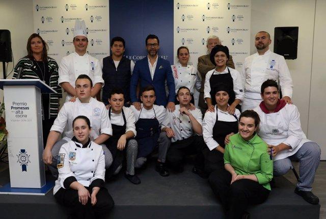 Finalistas en el VI Premio Promesas de Alta Cocina