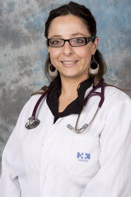 La médica Valentina Boni