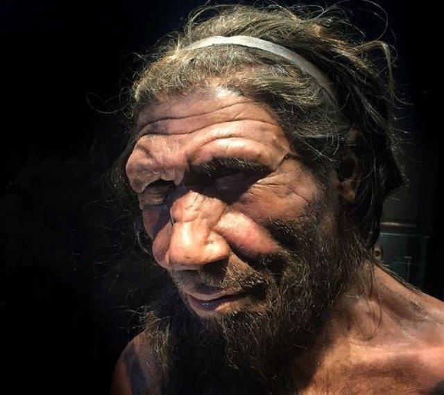 Aspecto de varón neandertal