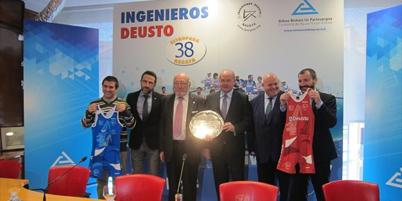 1. La Ría de Bilbao acogerá el 23 de marzo la 38ª edición de la Regata Ingenieros-Deusto