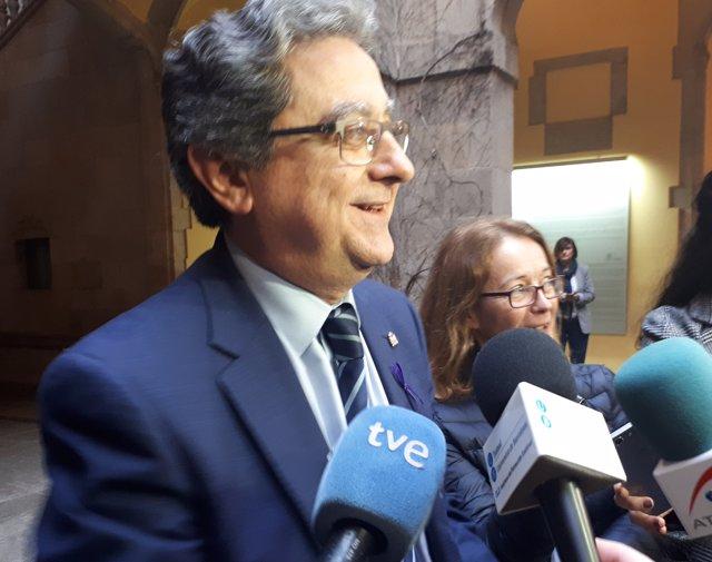 El delegat del Govern Enric Millo