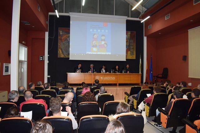 Simposio Hispano Portugués en la Universidad de Huelva.