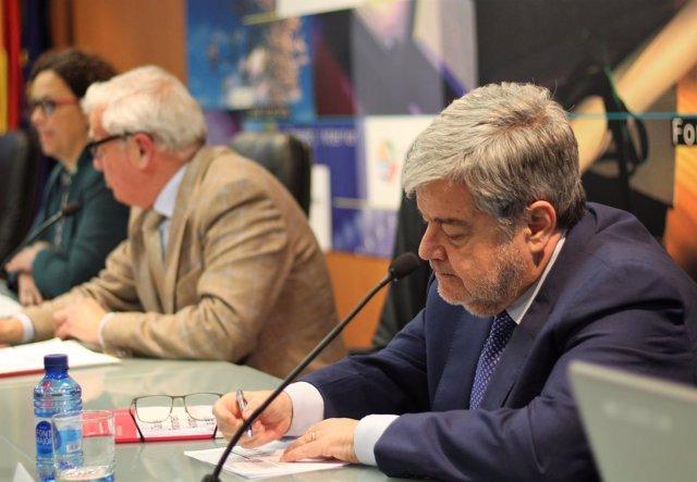 Guillem López Casasnovas en la Cámara de Comercio