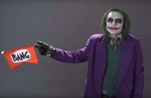 Tommy Wiseau es Joker