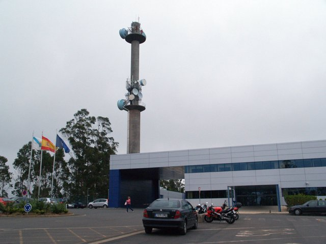 Edificio de la TVG (A Coruña)
