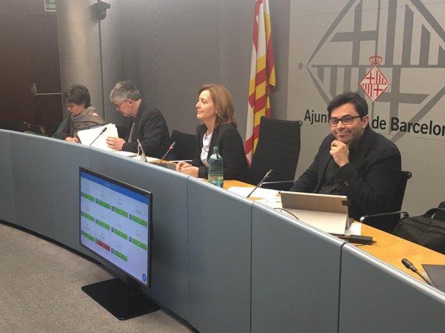 Comissió d'Economia de Barcelona de març