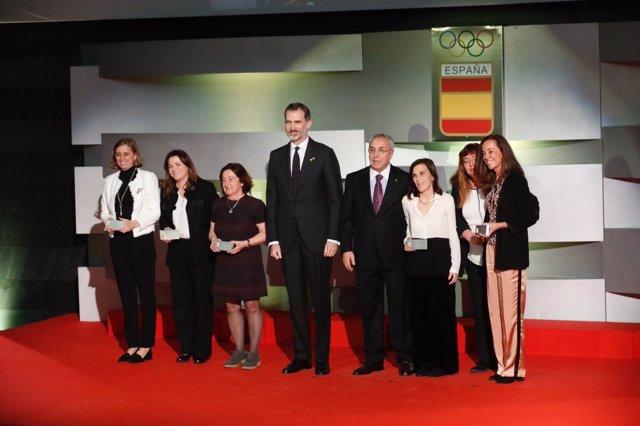 El Rei en la XII Gala Anual del Comitè Olímpic Español