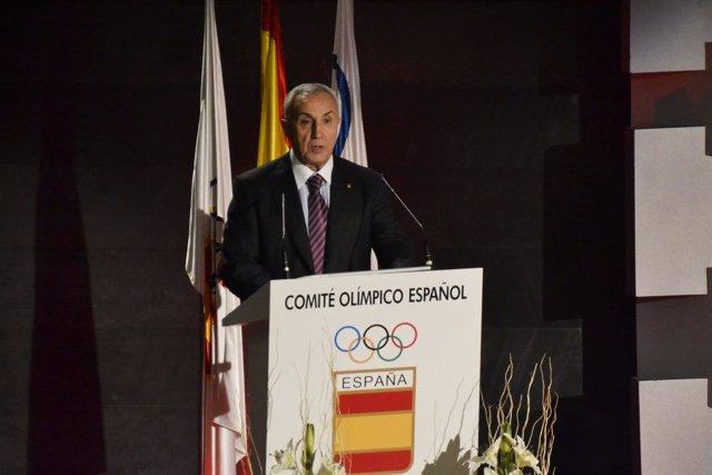 Alejandro Blanco en el homneaje a Barcelona '92