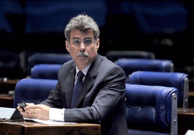 Romero Jucá, portavoz del Senado de Brasil