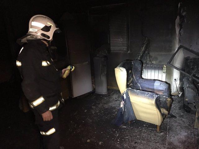 Fallece un hombre de 70 años en un incendio en Titulcia