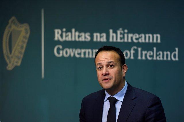El Taoiseach o primer ministro irlandés, Leo Varadkar