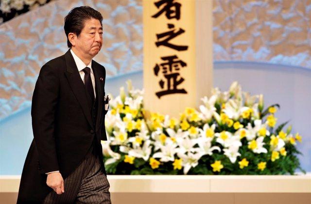 El primer ministro japonés, Shinzo Abe