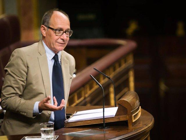 El diputado socialista José Juan Díaz Trillo