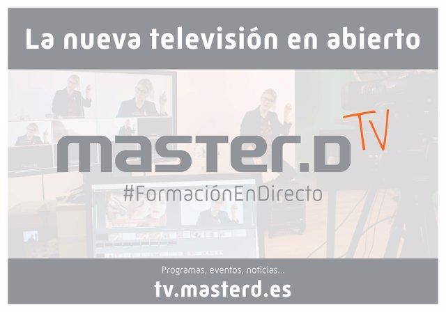 MasterD TV, la nueva televisión en abierto