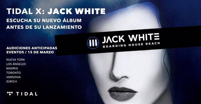 JACK WHITE CON TIDAL