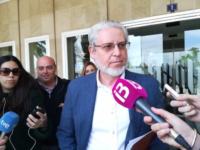 Eduardo López, presidente de Asociación de Constructores de Baleares