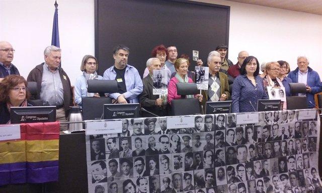 Víctimas del franquismo en el Congreso