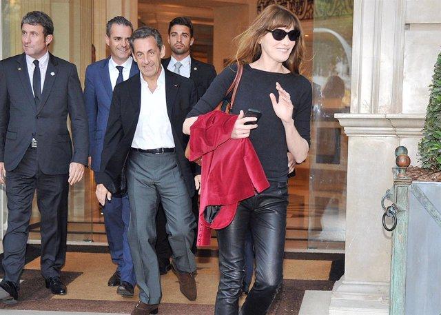 Carla Burni y Sarkozy