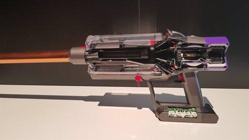 Motor digital Dyson V10 en la aspiradora sin cables Cyclone V10