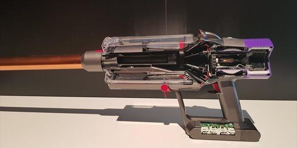 7. Motor digital Dyson V10, innovación y diseño al servicio de la función