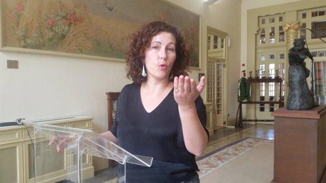 Sílvia Tur, diputada por Formentera, en una imagen de archivo