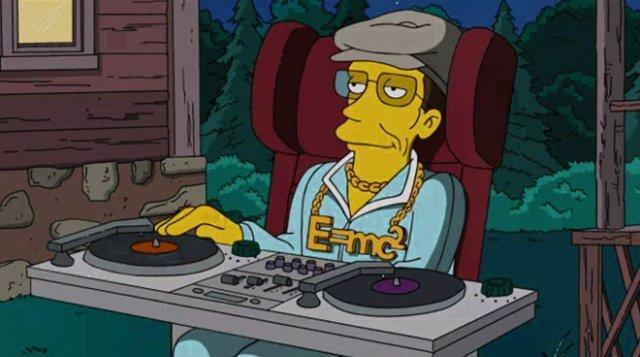 Stephen Hawking en Los Simpson