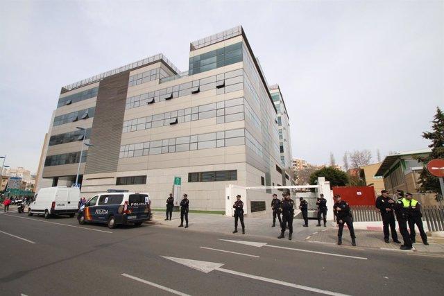 Imagen de los juzgados de Almería donde declara Ana Julia Quezada