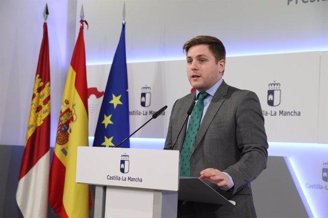 El portavoz del Gobierno, Nacho Hernando, en rueda de prensa