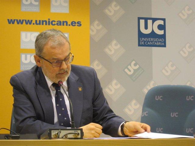 Rector Universidad Cantabria, Ángel Pazos.
