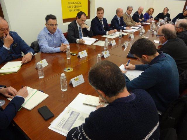 Reunión Sobre Sector Vino Logroño