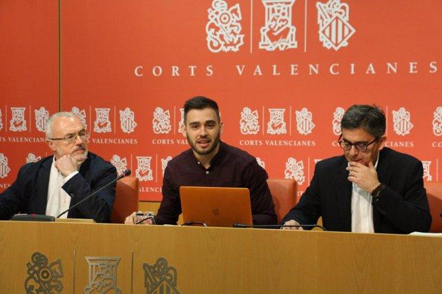 Presentación d ela propuesta para una nueva ley electoral valenciana