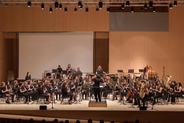 Banda de Mujeres de la FSMCV, en concierto para reivindicar el papel de la mujer