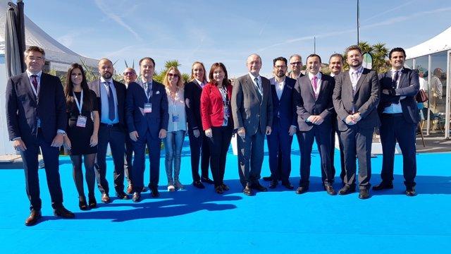 El Ayuntamiento De Málaga Informa: El Ayuntamiento De Málaga Apoya En Mipim A Pe