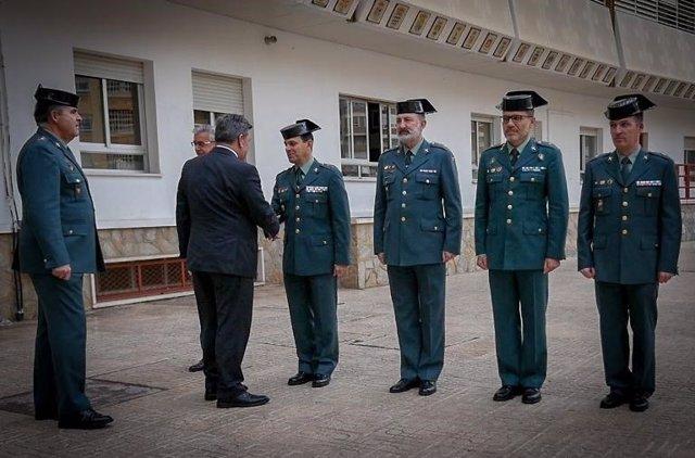 El director de la Guardia Civil se reúne con mandos del caso de Gabriel Cruz