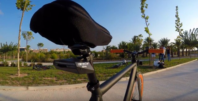 El dispositivo ideado por Conecta Bike