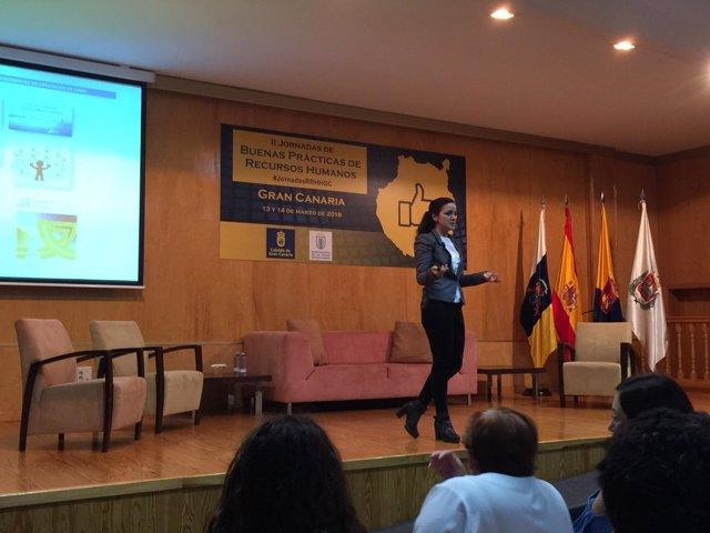Ponencia de la Diputación de Cádiz en Las Palmas