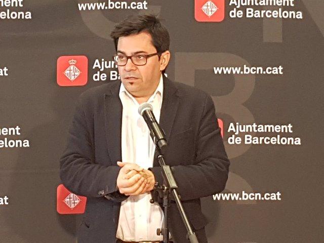 El teniente de alcalde de Barcelona Gerardo Pisarello