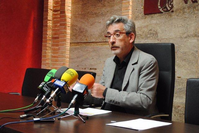 Jesús Martín, alcalde de Valdepeñas