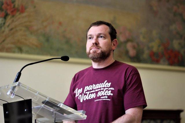 David Abril, portavoz parlamentario de MÉS per Mallorca
