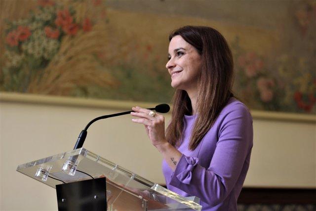 La portavoz parlamentaria del PP, Margalida Prohens
