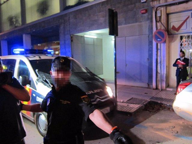 Traslado de policías nacionales acusados de asesinato/homicidio en Cartagena