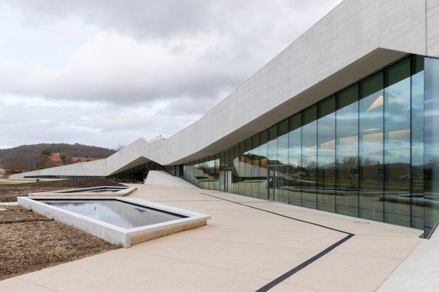 Imagen del museo Lascaux IV en la región francesa de La Dordoña