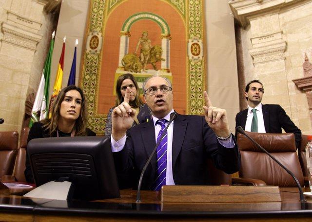 Juan Pablo Durán, este viernes
