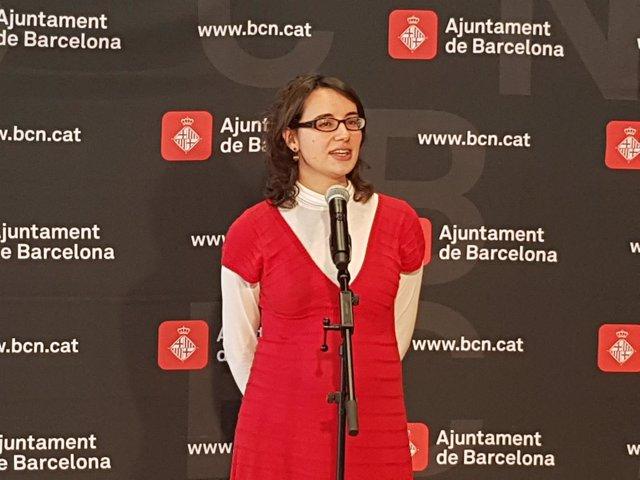 La concejal de Movilidad, Mercedes Vidal