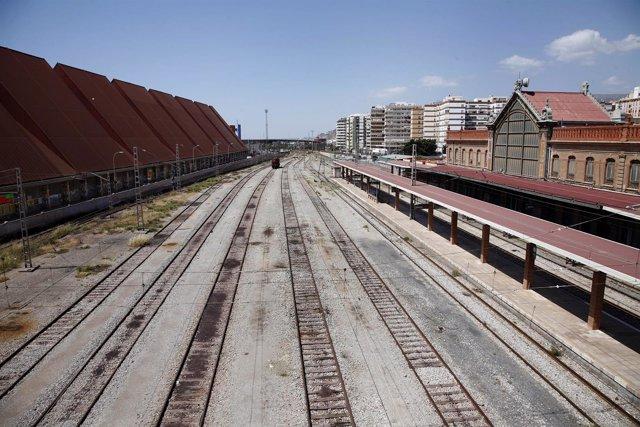 Imagen de la estación de tren de Almería