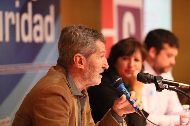 Julio Rodríguez, secretario general de Podemos Madrid