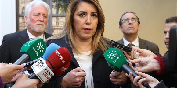 8. Susana Díaz se reunirá con Zoido para abordar medidas contra el narcotráfico en La Línea
