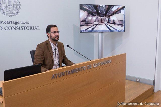 Presentación de la visita virtual al Palacio Consistorial